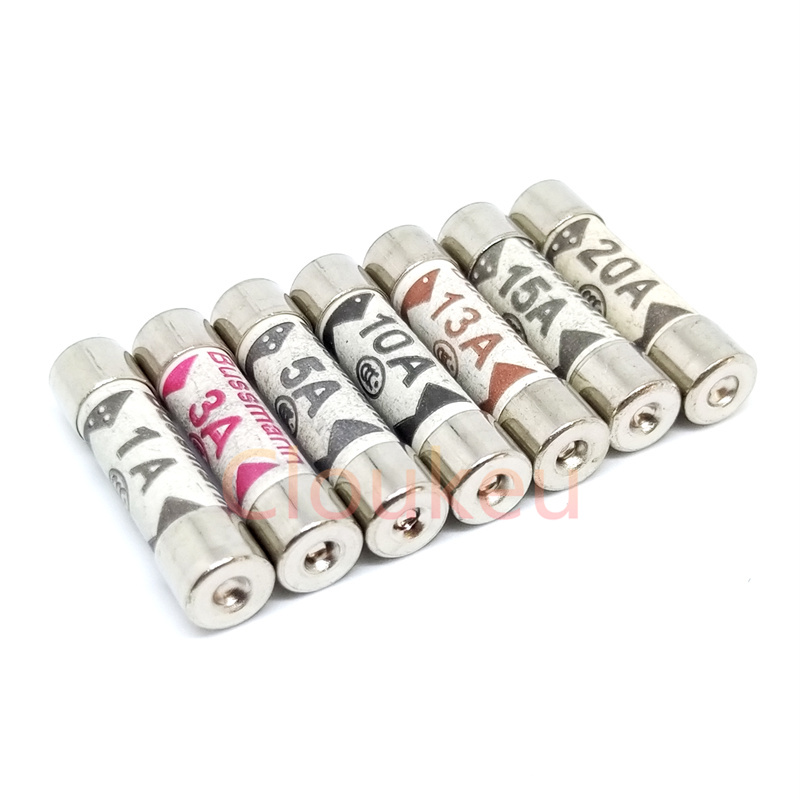 12 PCS 5 AMP ELECTRICAL FUSES COMPLY WITH BS 1362 STANDARDS 4 PCS X 3 PACK
