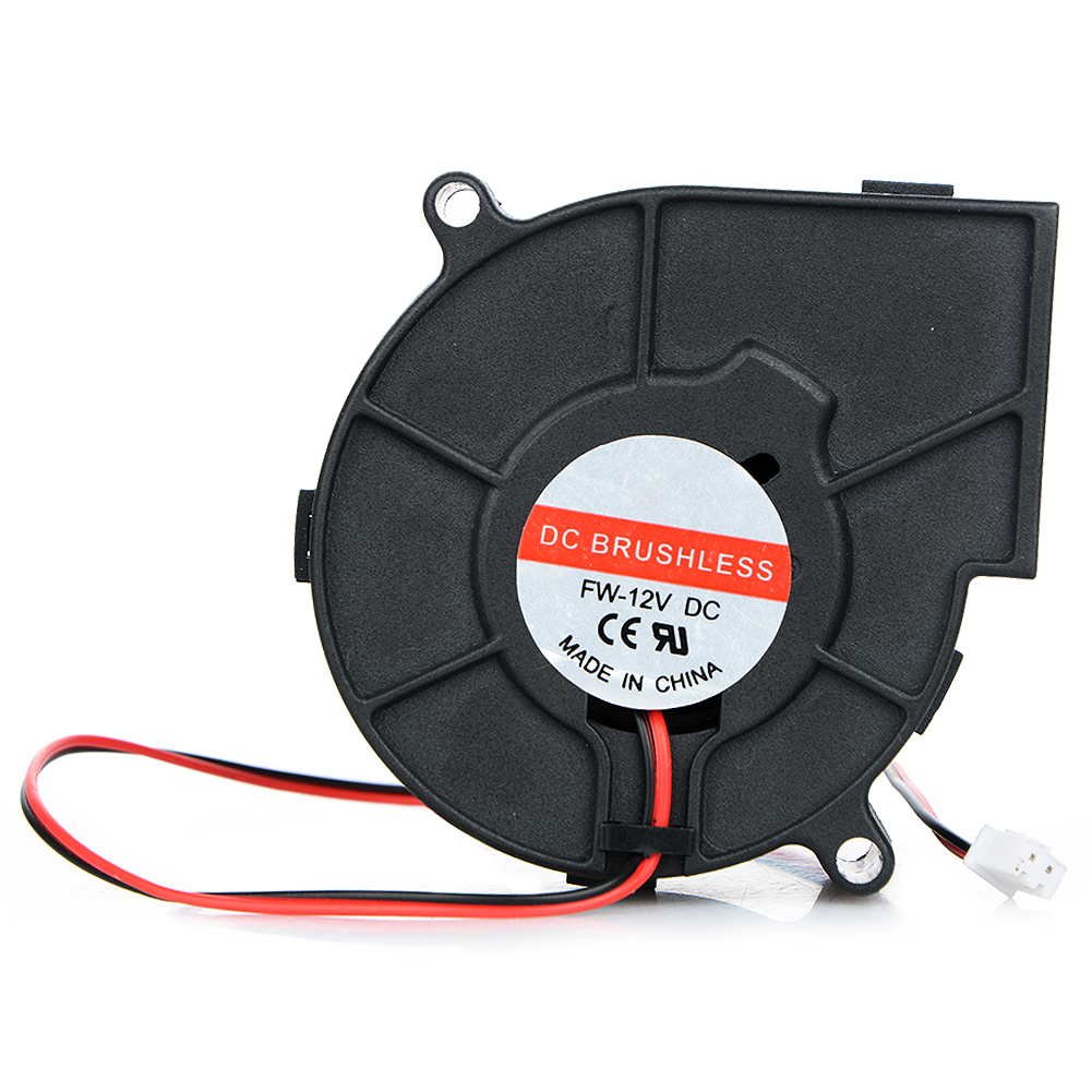 7530 DC 12V 0.12A 2 Pin Cooling Fan Projector Blower Centrifugal Fan Cooling Fan