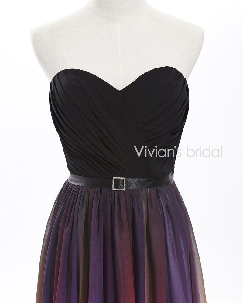 Vivian's Bridal Elegant Sweetheart A-Line Färgglada Långa - Särskilda tillfällen klänningar - Foto 2