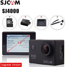 Original SJCAM SJ4000 Acción Cámara de Vídeo A Prueba de agua 30 m Buceo SJ CAM 4000 Básico Sport DV 1080 P Full HD Mini Casco videocámara