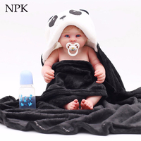NPK bebe reborn doll 22 Dolls Vivid painting Boneca Reborn Brinquedos Bonecas children's day gifts toys bed time