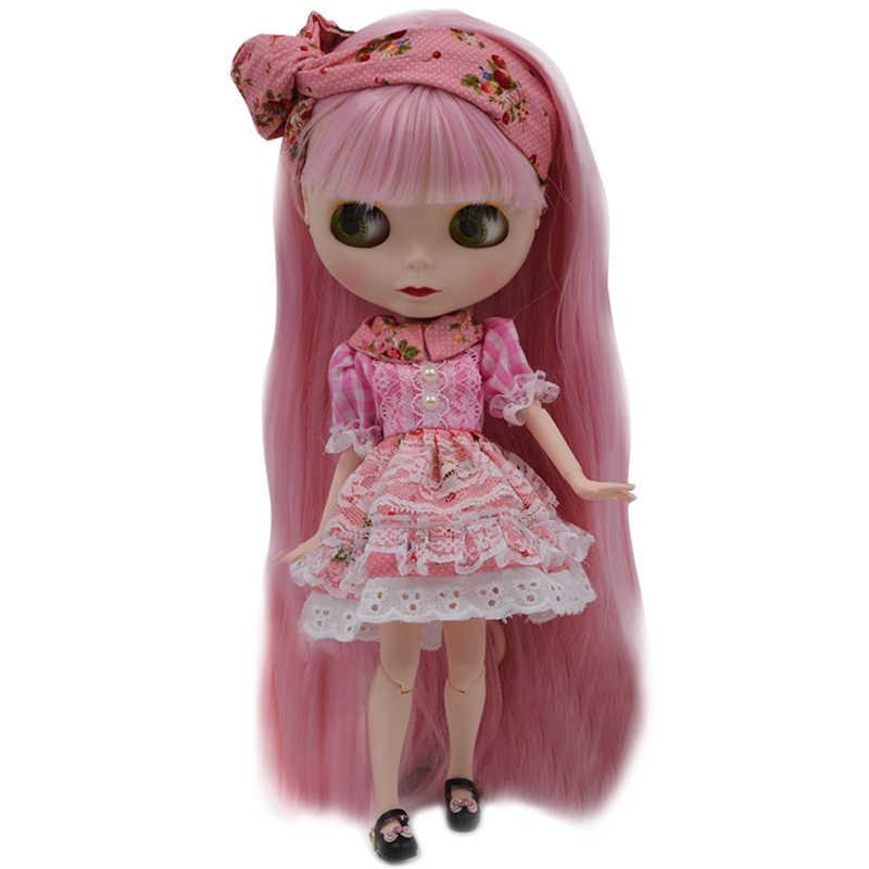 Blyth кукла BJD, Нео Обнаженная кукла Blyth индивидуальные матовые куклы лица могут изменить макияж и платье DIY, 1/6 мяч соединены куклы SO27