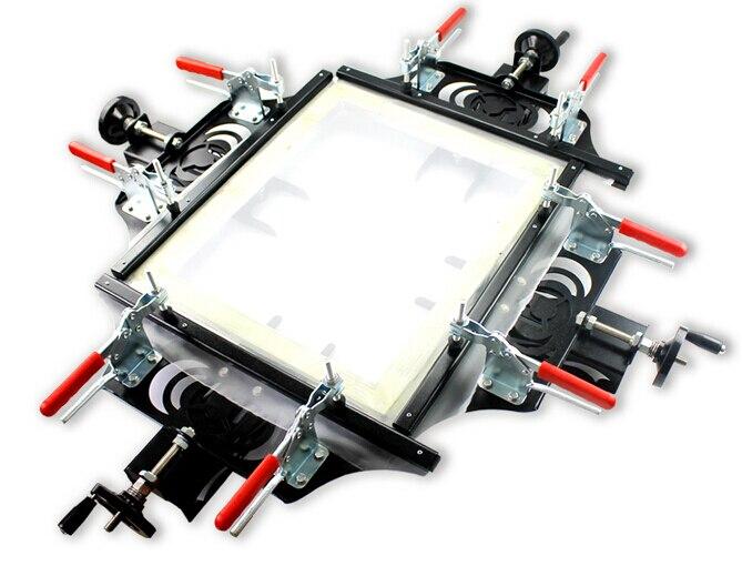 Trasporto VELOCE libero NUOVO schermo Manuale stampa barella per la stampa serigrafica stampante T-Shirt attrezzature macchina della pressa