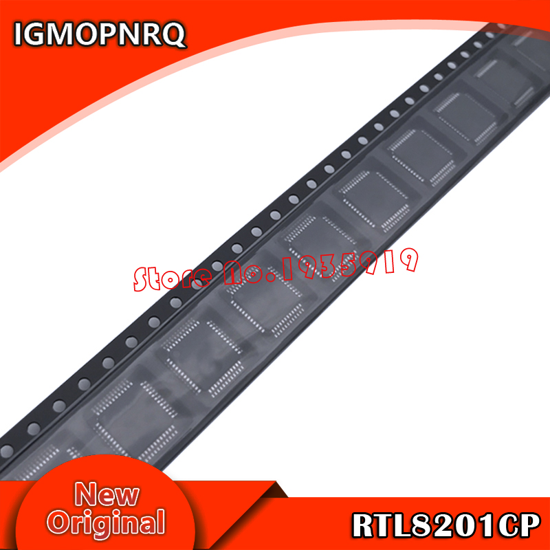 10pcs RTL8201CP RTL8201 QFP-48 Chipset New Original