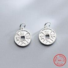 Uqbing винтажные круглые бусины в китайском стиле с надписью