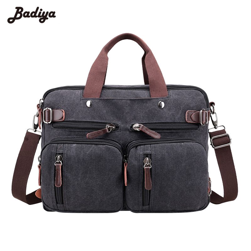 купить Multifunction High Quality Men Casual Canvas Shoulder Bag Diagonal Package Men's Crossbody Messenger Bags Handbag недорого