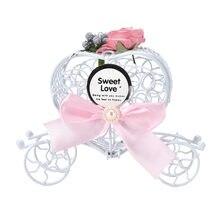 5 Pçs/set Bowknot Transporte Presentes Do Favor Do Casamento Caixas de Bombons Baby Shower Decoração do Casamento