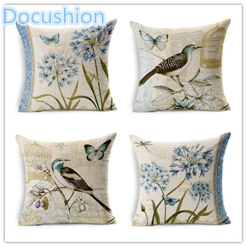 Hot sale hummingbird style home decor cushion pillows for Home decor items on sale
