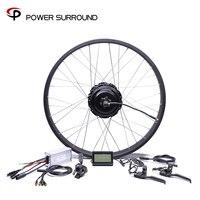 Waterproof 48v750w Bafang FAT Rear Electric Bike Conversion Kit Brushless Motor Wheel with 20'' 26''rim
