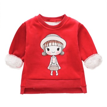 2018 New Arrival Baby Girls Sweatshirts Winter Spring Autumn Child hoodies long sleeves sweater kids T-shirt clothes Winter Hoodies & Sweatshirts