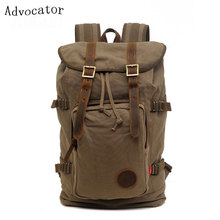19Inch Women College Students Bag Canvas Vintage Backpacks Laptop Lesiure Women Knapsack Retro Men Shoulders Bag Casual Rucksack