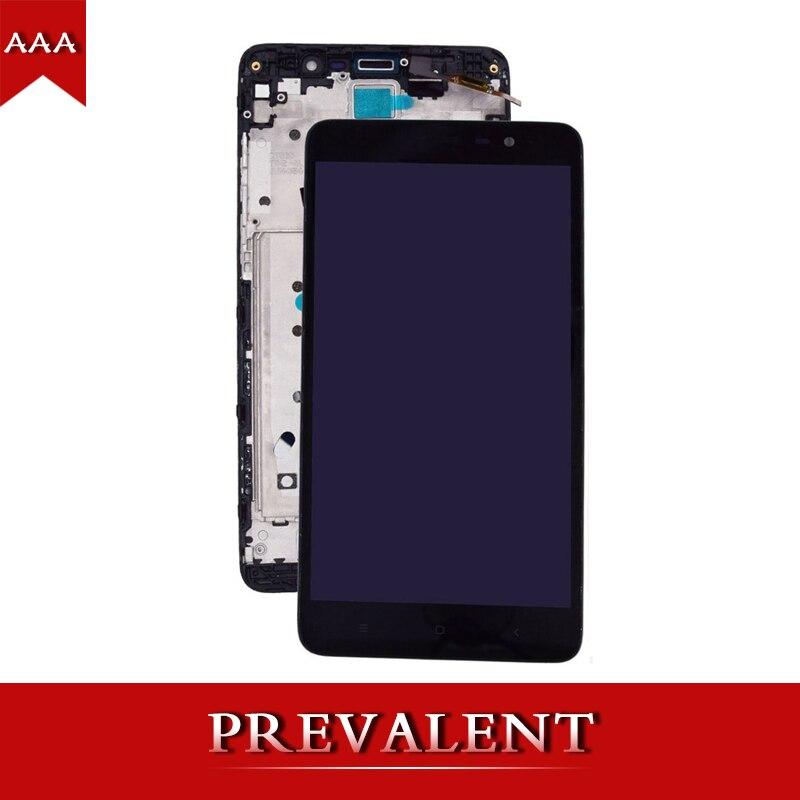 Pour hongmi Redmi Note 3 Note3 LCD Panneau D'affichage Module + Écran Tactile Digitizer Assemblée Capteur Cadre