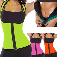 New Fashion Waist Corset Sweat Enhancing Thermal Vest Neoprene Waist Cincher Waist Trainer Hot Shaper Sauna