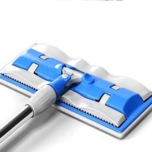 360 Degree Flat Lazy Mop Degrees Cleaning with 1pcs Microfiber Replace Cloth
