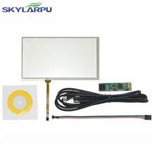 Nueva 6.2 Pulgadas USB Controlador de Pantalla Táctil Resistiva de 4 Hilos para HSD062IDW1 A00 A20 Pantalla de panel táctil de Cristal Envío gratis