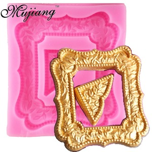 Image 4 - DIY Fondant เค้กตกแต่งเครื่องมือกรอบ Cupcake ช็อกโกแลตงานแต่งงานเค้กแม่พิมพ์ซิลิโคนครัวเบเกอรี่แม่พิมพ์