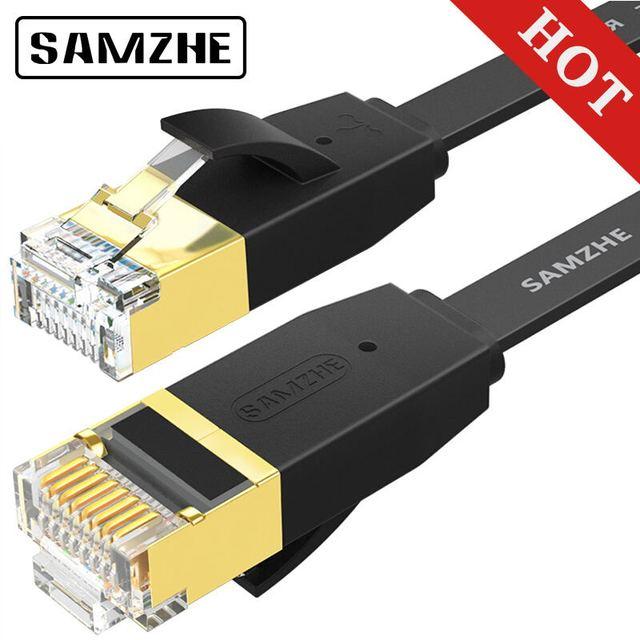 SAMZHE CAT6 прямой сетевой кабель RJ45 Lan Сетевой кабель Ethernet Патч-корд для компьютерный маршрутизатор ноутбука
