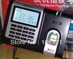 ZKSoftware X628 Fingerprint RS232 TCP IP Time Clock, X628