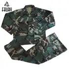 Мужская военная форма джунгли камуфляж обучение армейский боевой BDU охотничий костюм наборы пальто + брюки для улицы тактическая куртка выс...