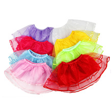 Summer Skirts For Girls Solid Ruffle Children Tulle Pettiskirt Baby Girl Tutu Skirt Kid Princess Ball Gown Dancing Clothes 6M-4Y