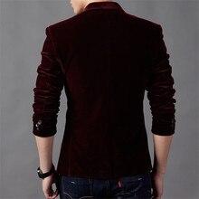 Hot Sale Brand Clothing Men Blazer Fashion Cotton Suit Blazer Slim Fit