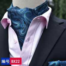 Fashion Brand Men Handkerchief Cravat Set Silk Paisley Pattern Gentlemen Dots Tie Wedding Ascot Bowtie Tuxedo