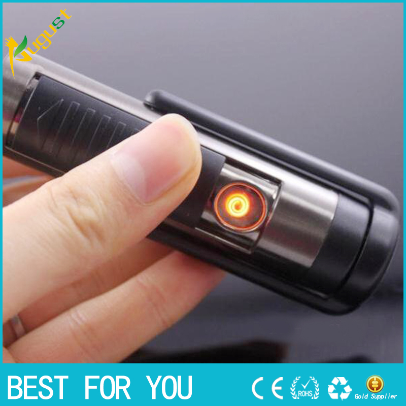 2016 Electronic cigarette lighter Vehicle mounted multifunctional USB shaver USB lighter with razor charging shaver