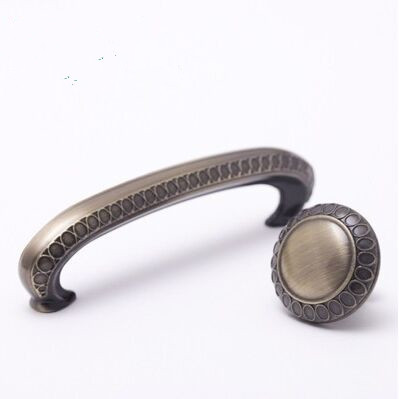96mm Vintage furniture hardware handles bronze drawer dresser pull knob  antique brass cupboard kitchen cabinet door handle  ABH 96mm antique brass kitchen door handles dresser cabinet handle knobs alloy furniture knob drawer wardrobe cupboard pull handle