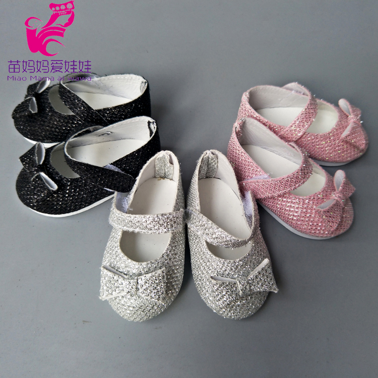 18 inch American Girls Doll shoes doll accessory 43cm zapf baby born doll princess Shoes girl play toys gifts