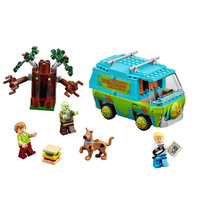 Scooby Doo 10429 10430 10431 10432 Mysterious Ghost House BELA Building Block Toys lepines P029 75901 75903 7590 Christmas gifts