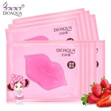 10pcs crystal collagen pump lips mask lot beauty exfoliator anti wrink