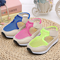 2016 Summer  new boys and girls casual breathable hollow sandals