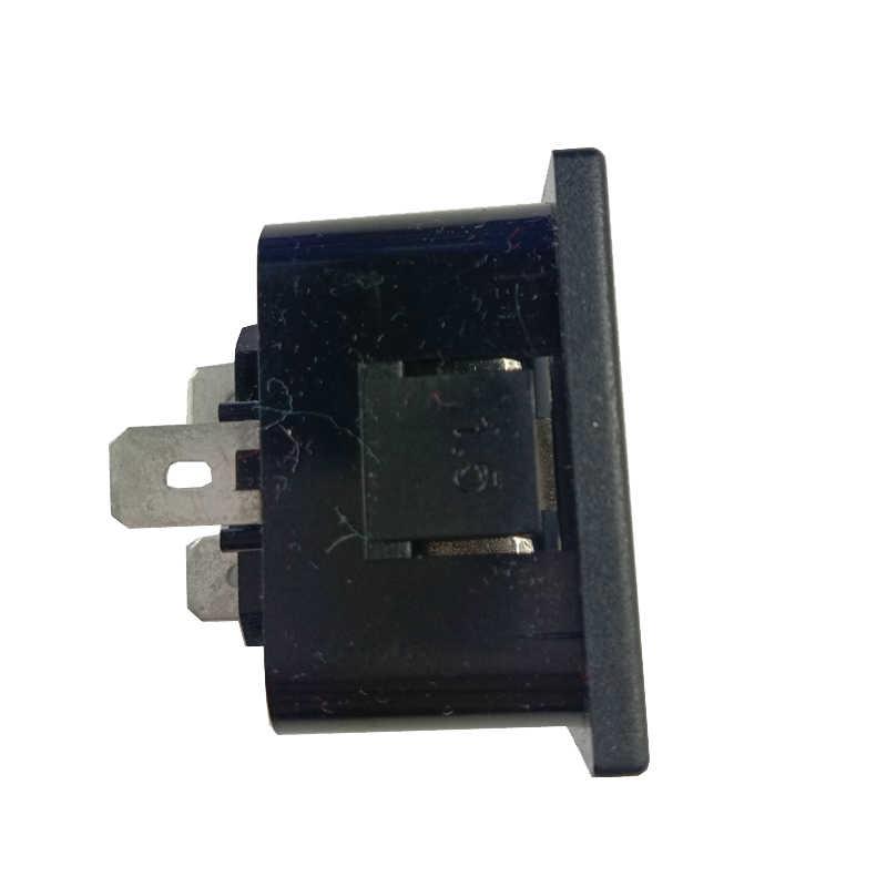 Enchufe de zócalo industrial IEC320 C20, toma de corriente multifuncional para montaje en Panel de toma de corriente de CA