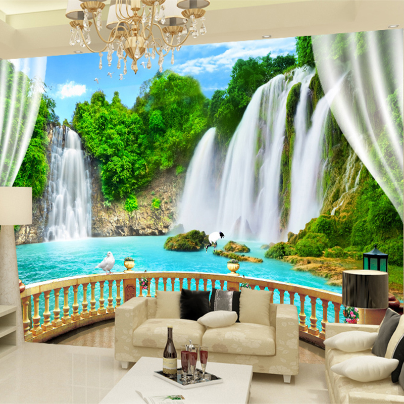 3D Wallpaper Tropical plant Flamingo Photo Wall Murals Living Room Study Cafe Restaurant Art Backdrop Wall Decor Papel De Parede Обои