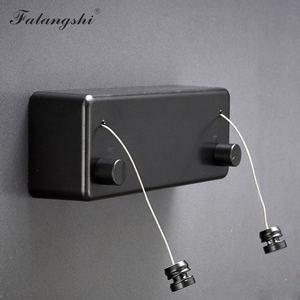 Image 4 - 服ラインドライヤー浴室付属品乾燥ラックホワイト/ブラック/ゴールデン/シルバー物干しラック洗濯乾燥機二重層 WB3006