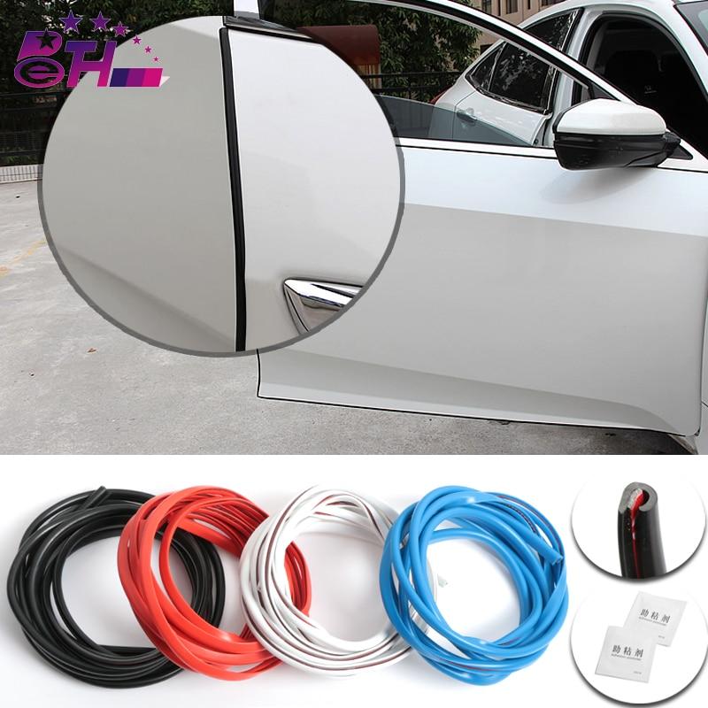 Car Door Seal Trim Filler Adhesive High Density Seal Strip Noise Insulation Car Rubber Seal Car Accessories цена