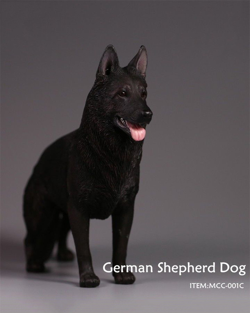 German Shepherd Dog Action Figurine