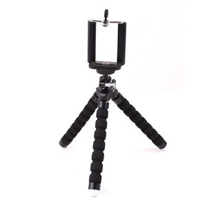 Image 2 - 電話ホルダー柔軟なタコ三脚、ブラケットスタンドマウントバイク自転車一脚ヘアスタイリングアクセサリー携帯電話カメラ