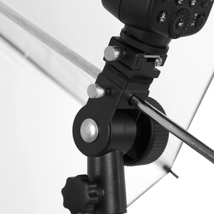 Image 3 - Godox Flash de cámara Speedlite soporte giratorio de luz con soporte Reflector de paraguas para cámara DSLR