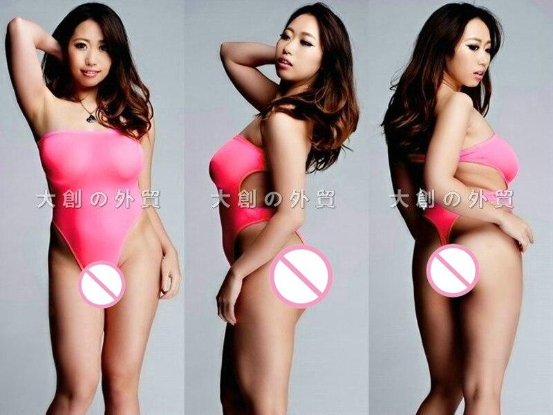 Club Sexy Pole Dance Wear High Cut Thong Bodysuit One Piece Swimwear Erotic Lingerie Teddies Bathing Suit Monokini