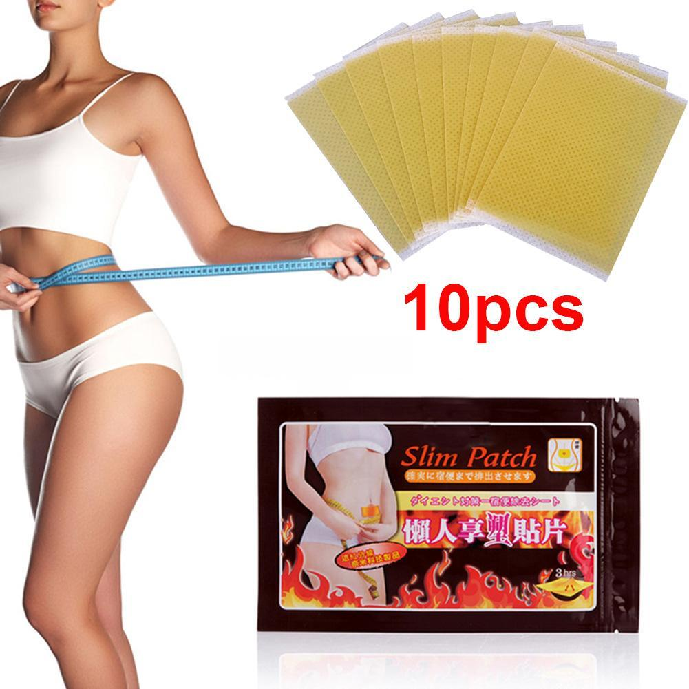 10pcs/bag Help Sleep Lose Weight Slimming Patch Weight Loss Fat Navel Stick Burning Fat Of Lazy Paste Slim Patches Dropshipping
