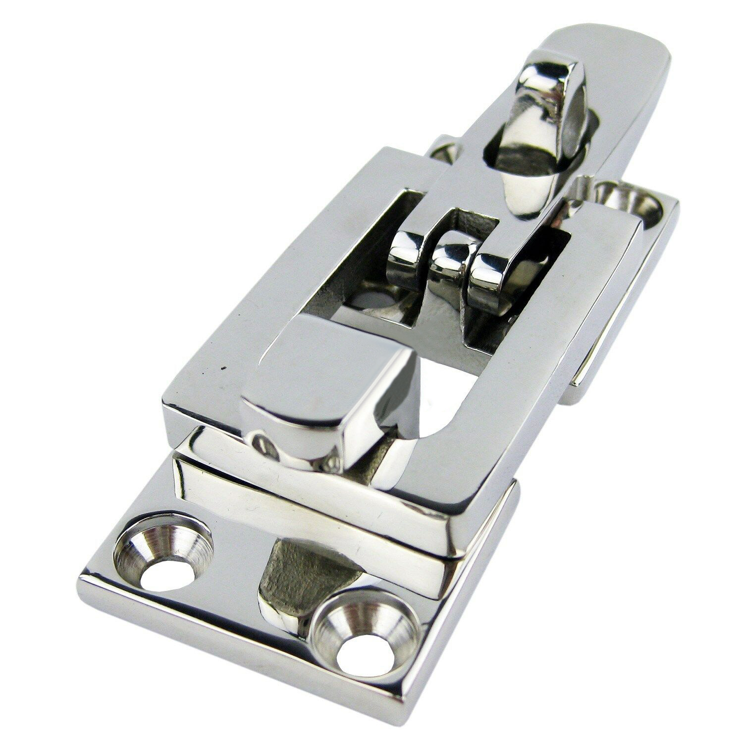 70mm*28mm 1pcs Stainless Steel Anti-Rattle Latch Boat Locker Hatch Heavy Marine Fastener Clamp New Professional Marine Hardware