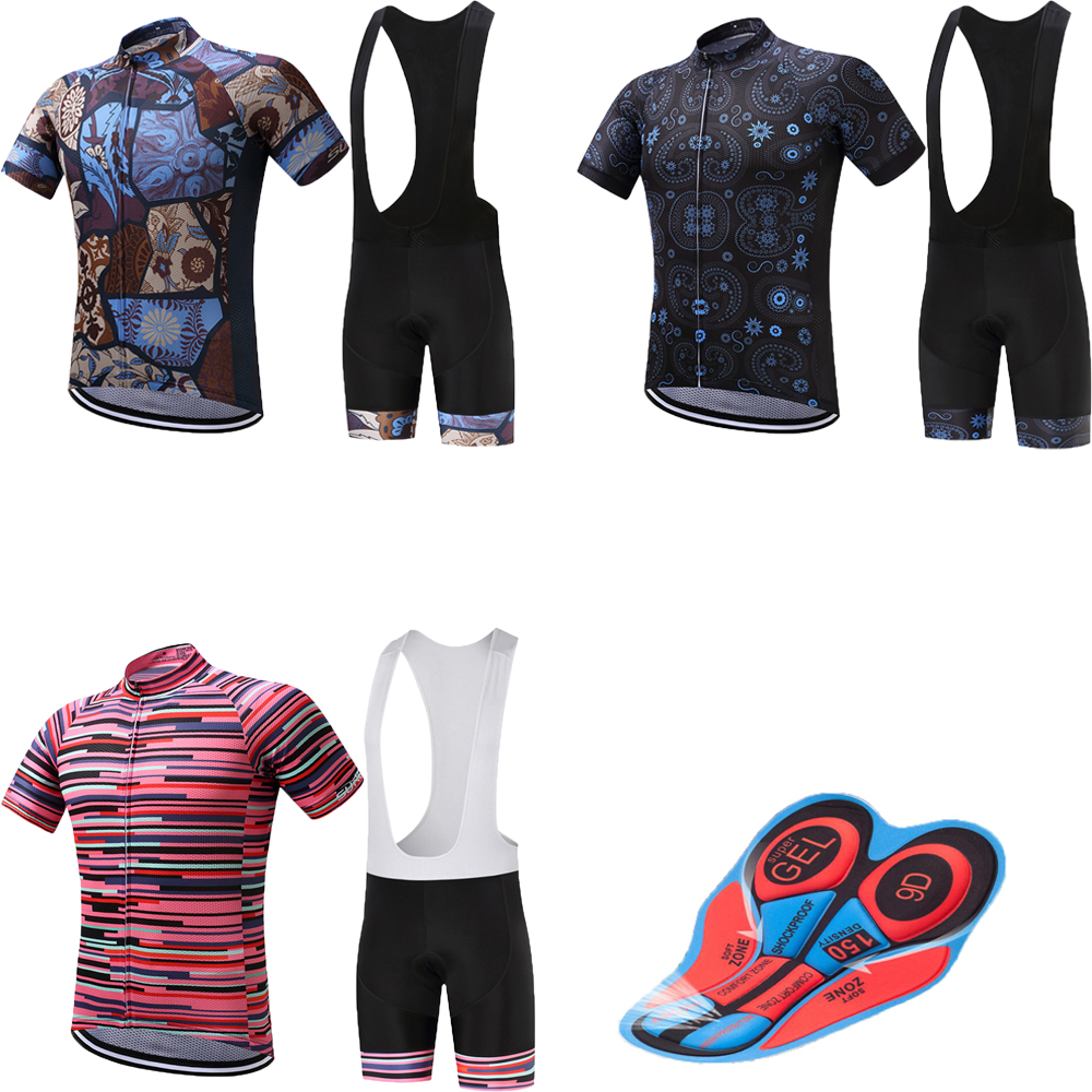 Retro summer cycling jersey sets men bicycle clothing maillot mtb mountain bike clothes kit sport wear skinsuit pro short dress women cycling jersey sets breathable short sleeve sport wear for mtb bicycle 2017 summer outdoor sport cycling clothes ciclismo