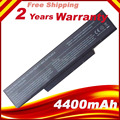 Brand New Laptop Battery For MSI BTY-M66 SQU-528  MSI M655 M660 M662 M670 M677 CR400 PR600 PR620 GX400 GX600 GX610