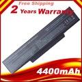 Brand new bateria do portátil para msi bty-m66 squ-528 msi m655 m660 m662 m670 m677 pr600 pr620 cr400 gx400 gx600 gx610