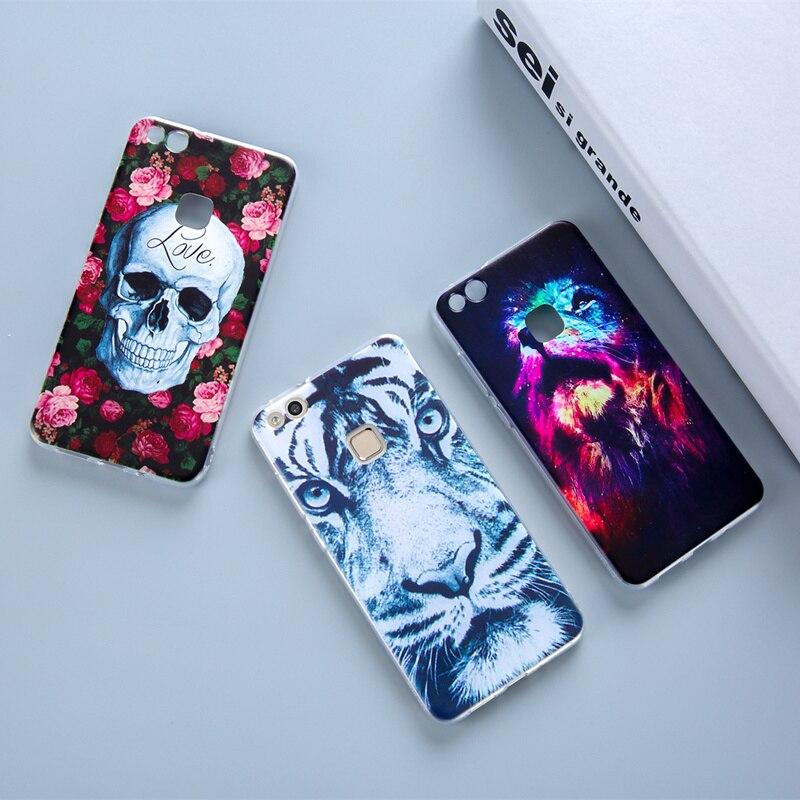 Soft TPU Silicon Phone Case For Huawei P8 P9 P10 P8lite P9lite P10lite Transparent Back Cover