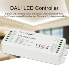 MiBOXER DL1 DC12V-24V DALI LED strip Controller Max 12A DALI Dimming Signal/Push dimming led strip light dimmer