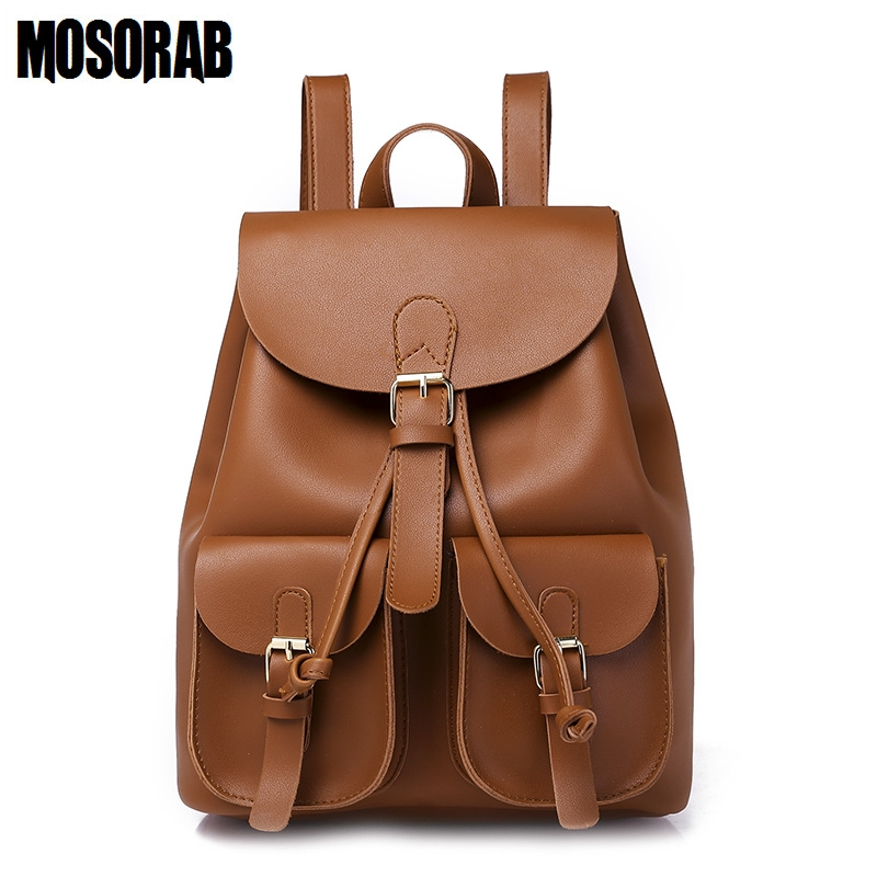 MOSORAB Women Backpack Preppy Style School Bags For Teenagers Girls Casual Shoulder Bag Backpack Female Rucksack Bagpack Mochila new design women bag denim backpack preppy style school backpacks for teenagers girls fashion casual travel bags rucksack a0284