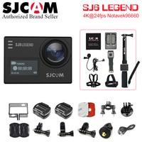 SJCAM SJ6 экшн камеры 4 К 24fps Ultra HD notavek 96660 Wi Fi 2,0 Водонепроницаемый подводный Шлем камеры cam Спорт DV сырые фото
