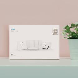 Xiaomi Mijia Aqara inteligentny zestaw wtyczek kryty główna sypialnia czujnik temperatury i wilgotności ścienne inteligentny przełącznik gniazdo inteligentny bezprzewodowy przełącznik zestaw 4